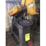 Everett chop saw, model 14-16, serial 6-3842