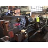 """South Bend """"Turn-ado"""" Lathe. 17"""" x 8' bed, gear and head, Fagor read out, comes with Gusher coolant"""