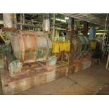 [Lot] (2) Nash vacuum pumps, model CL-4001, 400hp common drive, TM6 breast roll & UHLE box, [