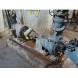 Broke pulper/chest pump, Goulds, model 3135, s/n 214B572, 3 x 12 -14, stainless, 20 hp, split