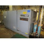 Atlas Copco air compressor, type GAU-1107, 575 volt, mfg 1998, with connecting Pall air dryer and