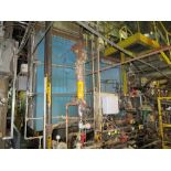 Keystone/Zurn package oil fired boiler #7, 750 psi, 200,000 lbs/hr buring #6 low sulfer fuel oil,