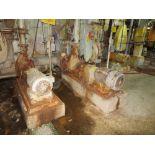 [Lot] (3) Assorted slush, machine & sweetner stock pumps, various sizes & hp, (2) split case, (1)