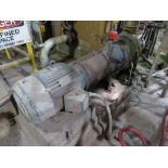 Refiner feed chest pump, Goulds, 3175, 3x6-1 (located on main production level in front of TM7),