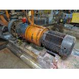Broke chest dump pump, Goulds, 3175, 3x6-14, 10 hp, stainless, [Asset #70MP04], subject to bulk