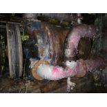 Felt vacuum pump, Nash, model 704R, approx 300 hp, DC motor, [Asset #70MP21], subject to bulk bid