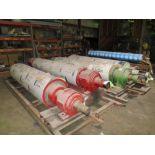 [Lot] Tissue machine rolls, reconditioned, subject to entirety bid lot 100