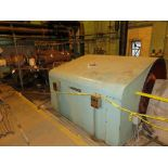 Westinghouse steam turbine, 5000 kw, 600 psi inlet pressure, with 5000 KVA AC generator (partially