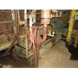 Feed water pump #2DA, Ingersoll Rand, model 4HMTA-9, s/n 107216, 600 hp, 580 gpm, subject to