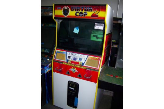 Virtua cop 2 arcade