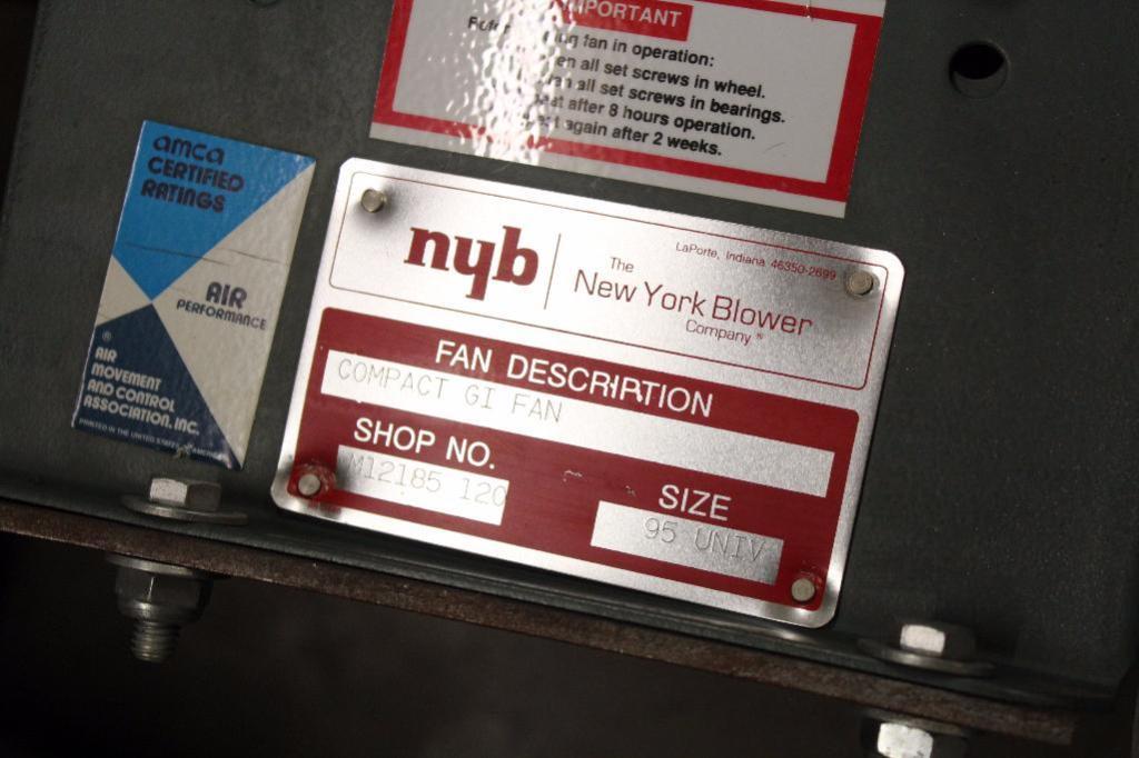 Lot 42 - BloApCo 3B & NYB compact GI Fan