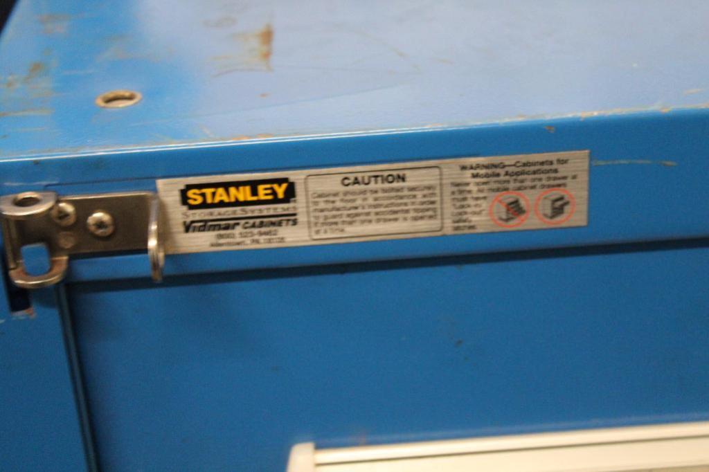 Lot 5 - Stanley Vidmar Cabinet