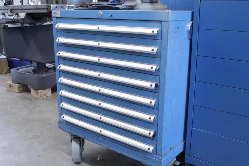 Lot 2 - Lista 8 Drawer Cabinet w/ casters