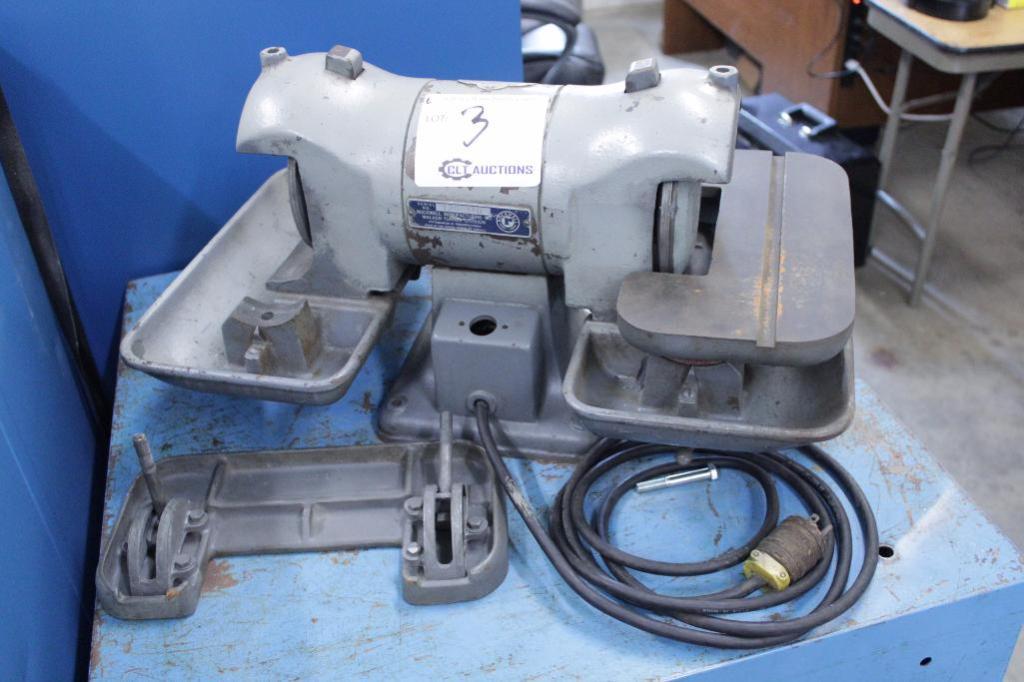 Lot 3 - Rockwell carbide grinder