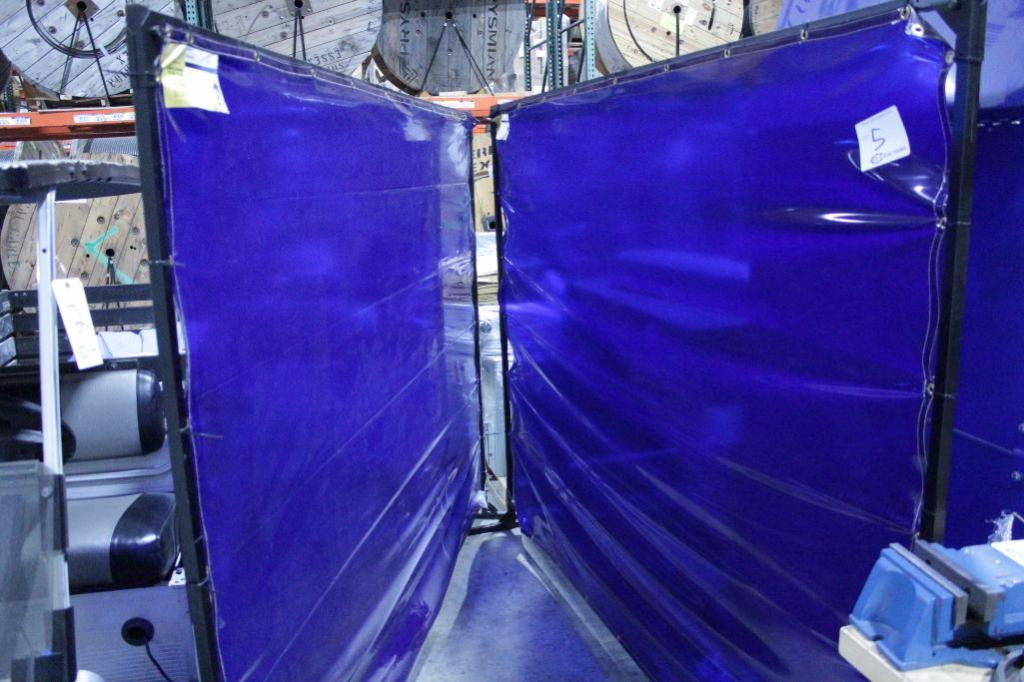 Lot 5 - Welding Curtains