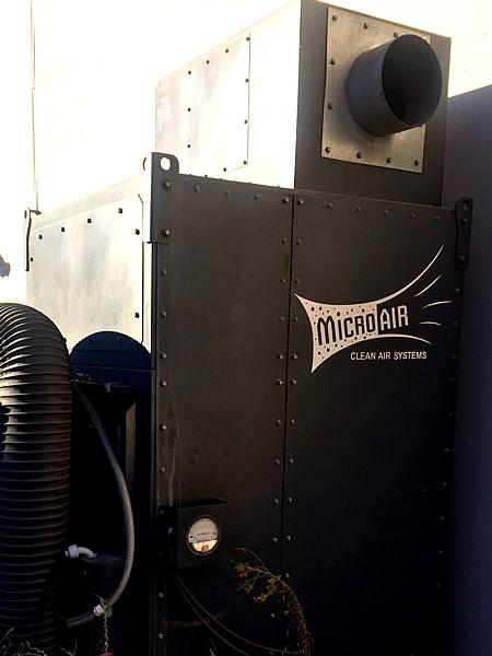 Lot 7 - Micro Air Clean Air Dust Collector System