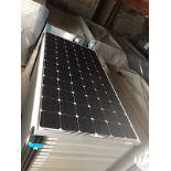 LOT OF (5) 320 WATT SOLAR PANELS - (BIDDING IS PER PANEL MULTIPLIED BY 5)