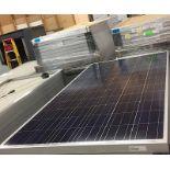 LOT OF (20) 300 WATT SOLAR PANELS - (BIDDING IS PER PANEL MULTIPLIED BY 20)