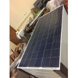 LOT OF (5) 295 WATT SOLAR PANELS - (BIDDING IS PER PANEL MULTIPLIED BY 5)