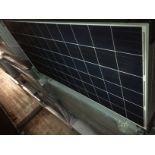 LOT OF (20) 295 WATT SOLAR PANELS - (BIDDING IS PER PANEL MULTIPLIED BY 20)