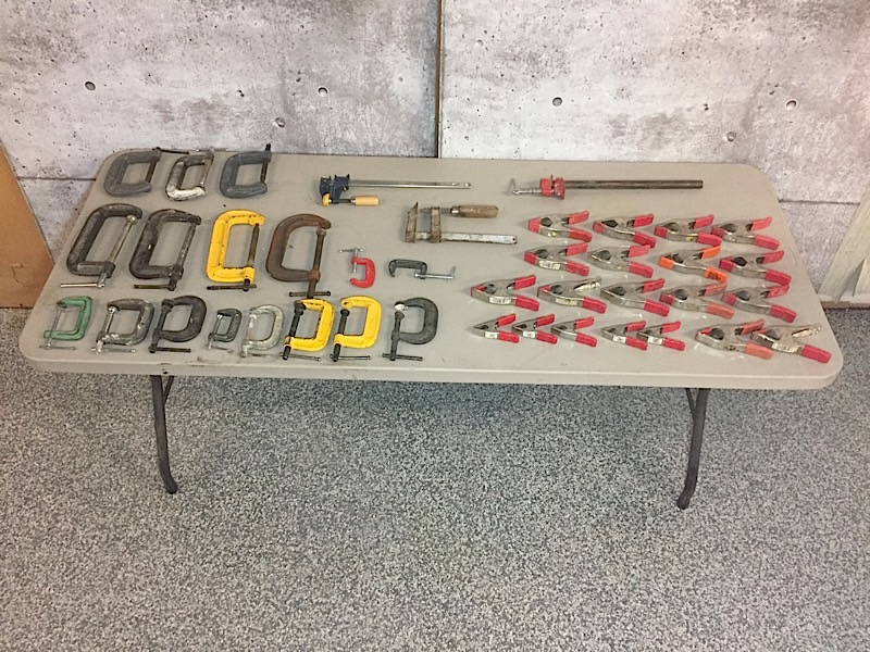Lot 2 - LOT OF CLAMPS