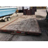 25' ROLL OFF TRUCK DECK - 7ft 7.5in width between rails - Useable length on the bed 23ft 7in