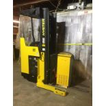 HYSTER (MODEL #N30XMR3) 3,000LBS ELECTRIC WITH EXIDE BATTERY FORKLIFT - SERIAL #C470N01981Z
