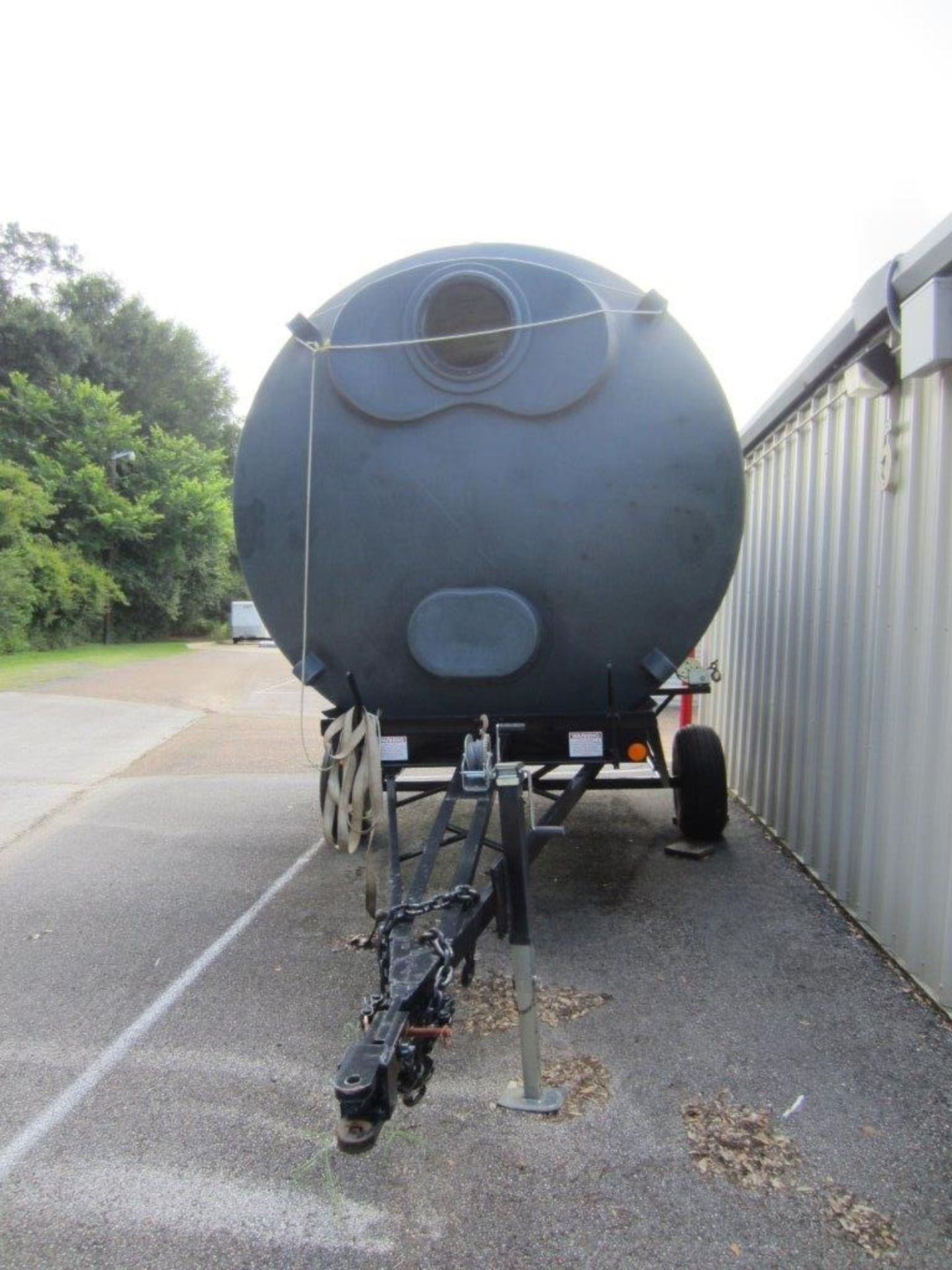 ADAMS SINGLE AXLE TRAILER WITH OIL DRUM (SUBJECT TO GROUP LOT 7) - Image 3 of 3