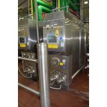 Waukesha Cherry-Burrell 600 GPH S/S Single-Barrel Ice Cream Freezer, Model: WS212, SN: 24595, with