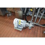 Fristam 10 HP Pump with Baldor 1,750 RPM Motor, Model: FPX 3532-140, Clamp Type