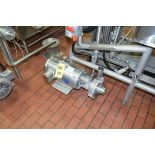 Fristam 15 HP Pump with Baldor 3,500 RPM S/S Clad Motor, Model: FPX 3232-130, Clamp Type