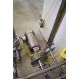 "Fristam Centrifugal 2-Speed Pump with Dayton 2 HP/1.5 HP 1,750/1,450 RPM, 2"" X 2"" S/S Clad Motor,"