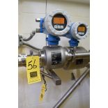 """Endress Hauser Promag H, 2"""" Flow Meter, Clamp Type, with Clamps**Rigging Fee $50"""