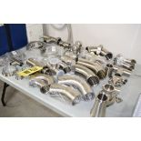 """(50) NEW Assorted S/S, Tees, Ferrels, Clamps, Elbows and Reducers up to 3""""**Rigging Fee $25"""