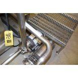 "Waukesha Cherry-Burrell, Circulating Pump with Baldor 2 HP 3,450 RPM Motor, Clamp Type, 2"" X 1.5"""