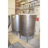 2-Tank S/S CIP System with Tri Clover Pump, S/S Clad Motor, Tri Clover Air Valve Transducer and