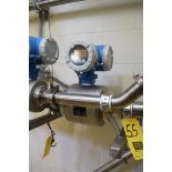"""Endress Hauser Promag H, 3"""" Flow Meter, Clamp Type, with Clamps**Rigging Fee $50"""