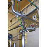 """SPX Waukesha Cherry-Burrell, 3-Way and 2-Way, 2"""" S/S Air Valves, Clamp Type, with Clamps**Rigging"""