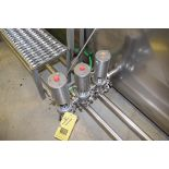 """G & H, 2"""" S/S 2-Way Air Valve, Clamp Type, with Clamp**Rigging Fee $50"""