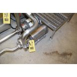 "Tri Clover Centrifugal 2-Speed Pump, 2/1.5 HP Dayton, 1,760/1,450 RPM S/S Clad Motor, 2"" X 1.5"", S/S"