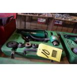 Greenlee Textron Hydraulic Knockout Punch Set