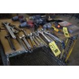 """Assorted Crescent Wrenches, Up to 2-7/16"""""""