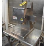 Edlund S/S Can Opener with Table, Rigging Fee: Please Contact US Rigging 920-655-2767