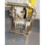 Murzan S/S Diaphragm Pump, Model: SBR2X21F, SN: 14109656, Rigging Fee: Please Contact US Rigging