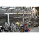Assorted S/S Mixing Paddles, Wisks, Scoops, with Rack, Rigging Fee: Please Contact US Rigging 920-