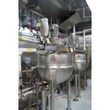 2004 Hamilton 100 Gallon S/S Jacketed Doble Motion Kettle, Style SA with Scrape Surface Agitator and