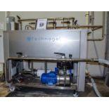 2016 Technogel 2-Compartment CIP System, Model Mini CIP LAVAGG10, S/N 00758YN Rigging Fee $ 200