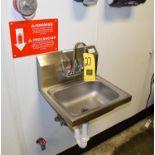 John Boos S/S Wash Sink Model PBHS-W-1410 Rigging Fee $ 25