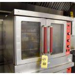 Vulcan Gas Fired 2-Door Oven, Model SG4N Rigging Fee $ 100
