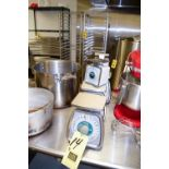 Taylor and Pelouze Analog Kitchen Scales Rigging Fee $ 10